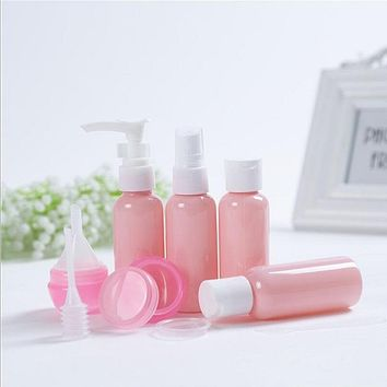 Travel set bottles Silicone Packing Bottle Lotion Shampoo Tube Container Storage Bottles Plastic Squeeze Storage Tool S035C