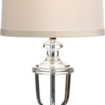 Crystal Urn Lamp