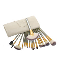18-pcs Beige Professional Fashion Hot Sale Brush [6050183873]