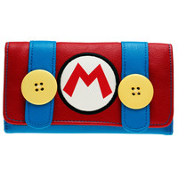 Super Mario Wallet- Faux Leather