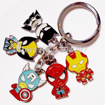 Marvel DC Key Chain Characters
