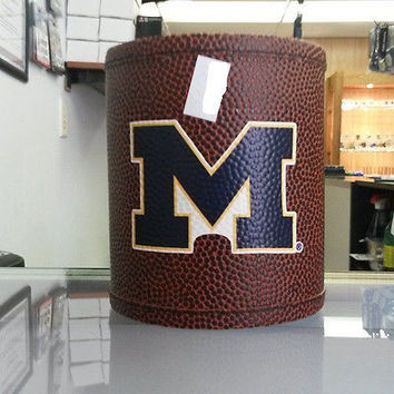 NCAA Michigan Wolverines Football Can Holder