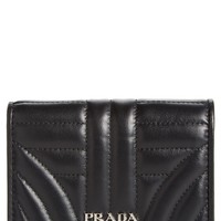 Prada Quilted Leather French Wallet | Nordstrom