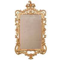 George III Rectangular Mirror