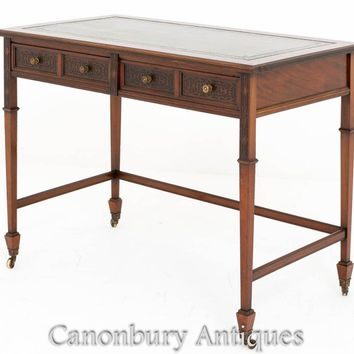 Canonbury - Mahogany Chippendale Desk Writing Table 1890