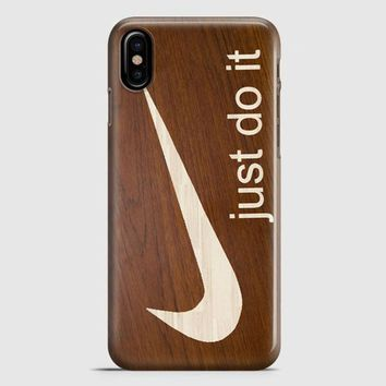 Nike Just Do It Aztec Pastel iPhone X Case