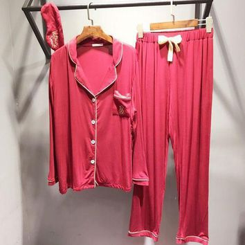 Victoria's Secret Women Modal Cotton Pajamas Set Pajama Pyjamas Set Sleepwear Loungewear Set Two Piece