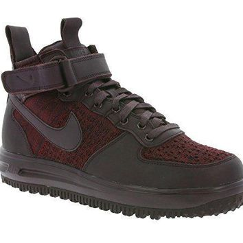 NIKE W Lunar Force 1 Fkyknit Workboot Women's Sneaker Violet 860558 600 womens shoes