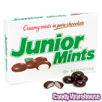 Junior Mints Candy Theater Packs: 12-Piece Box | CandyWarehouse.com Online Candy Store