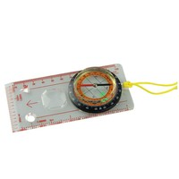 Compass with Baseplate Ruler Map Scale