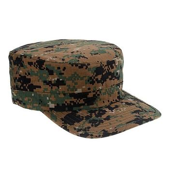 Jungle Digital Camouflage Army Hat