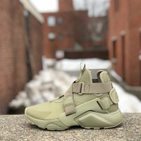 KU-YOU Nike Womens Air Huarache City Neutral Olive AH6787-200