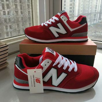 """New Balance""Fashion Casual All-match N Words Breathable Lover Sneakers Shoes"