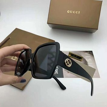 GUCCI Woman Men Fashion Popular Shades Eyeglasses Glasses Sunglasses