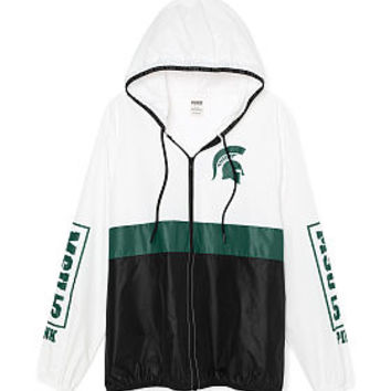 Michigan State University Anorak Full-Zip - PINK - Victoria's Secret