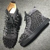 Cl Christian Louboutin Pik Pik Style #1985 Sneakers Fashion Shoes - Best Deal Online