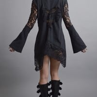 Dark Lace Cardigan