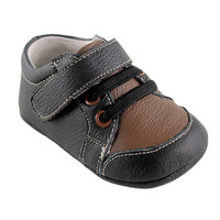 Hudson Baby Boy's Leather Sneaker | Affordable Infant Clothing