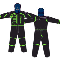 ION Fuse Dry Suit 4/3mm DL 2016
