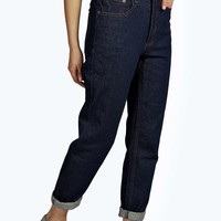 Jody Indigo High Rise Mom Jeans