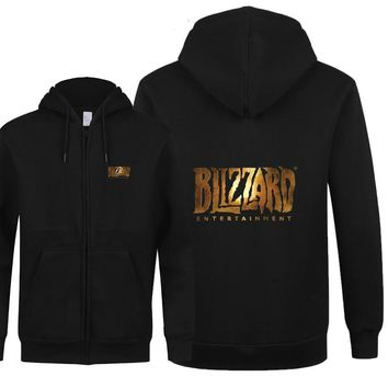 The Blizzard Sweatshirt Cool Printed Men Blizzard Long Sleeve O Neck Fleece Zipper Hoodies Men Boy Sweatshirts Free Shipping