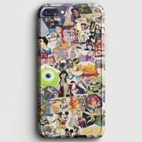 Disney Characters Stained Glass iPhone 7 Plus Case | casescraft