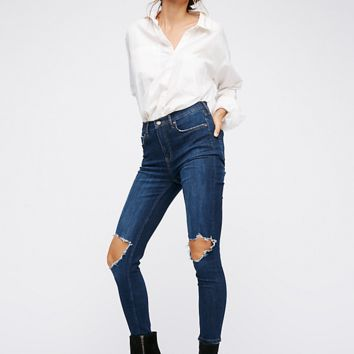 Busted Skinny Jean