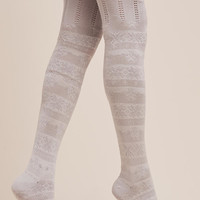 Over-The-Knee Textured Socks