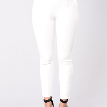 The Sophisticated Pants - Ivory