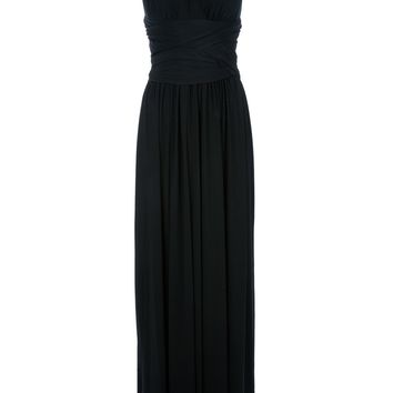 Halston Heritage Grecian Style Gown