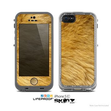 The Golden Furry Animal Skin for the Apple iPhone 5c LifeProof Case