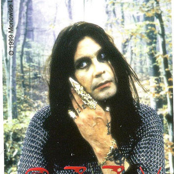 Ozzy Osbourne Vinyl Sticker Hand Photo