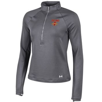 IOWA STATE UNIVERSITY CYCLONES ISU Under Armour UA Women's 1/2 Zip Fleece Jacket