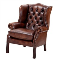 Leather Armchair | Eichholtz Club Bradley