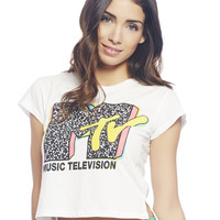 MTV Crop Tee | Wet Seal
