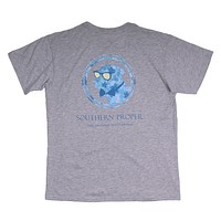 Island Dog Tee in Heather Grey by Southern Proper - FINAL SALE