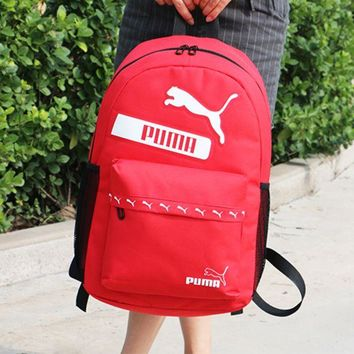 DCCKW2M PUMA:Casual Sport Shoulder School Bag Backpack