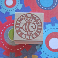 Hand Carved Custom Stamp -Hand made by your name-