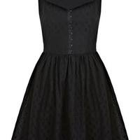 Petites Broderie Sun Dress - New In