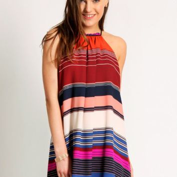 Madison Avenue Halter Dress