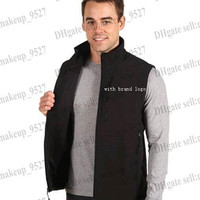 Free Shipping Men Fleece Apex Bionic Vest Jacket Coat Outdoor Casual Down Windproof Waterproof Sports Waistcoat Clothes with brand logo