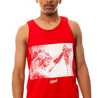 SUPERB The Perseus Tank Top in Red