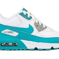 Nike Youths Air Max 90 Leather Leather Trainers  nike air max 90