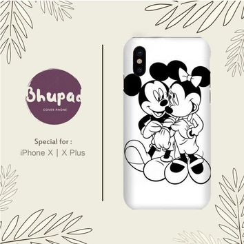 MICKEY MOUSE WALLPAPER BLACK AND WHITE IPHONE X