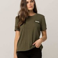 VOLCOM Ring It Up Olive Womens Tee