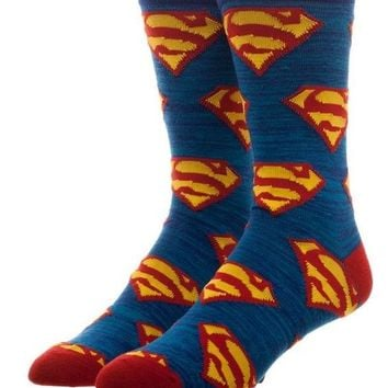 Superman Small Logo's Crew Socks