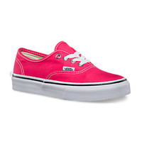 Canvas Authentic, Girls | Shop Classics (10.5-4.0) at Vans