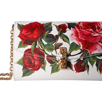 Dolce & Gabbana Leather Chain Bag