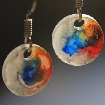 Multicolor Abstract | earrings