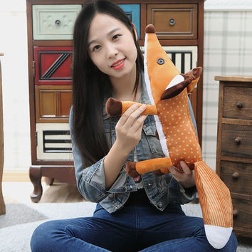 45cm The Little Prince Fox Plush Dolls le Petit Prince stuffed animal plush education toys for baby kids Birthday Xmas Gift